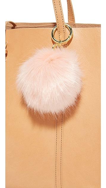 Iphoria Faux Fur Bag Charm