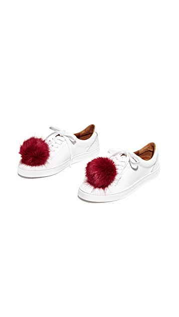 Iphoria Faux Fur Sneaker Charm Set