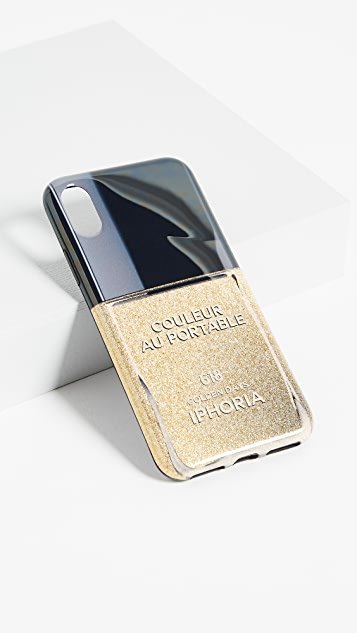 Iphoria Nail Polish Golden Day iPhone X Case