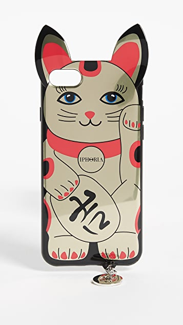 Iphoria Golden Lucky Cat iPhone 7 / 8 Case