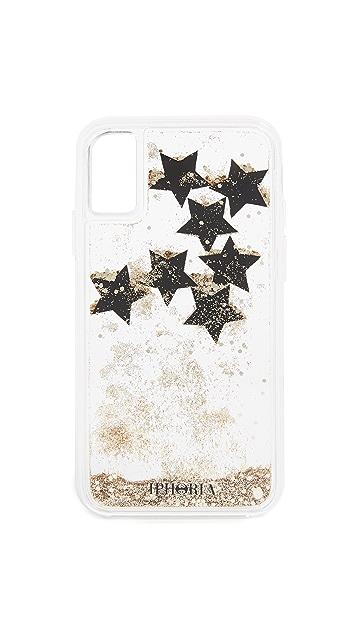 Iphoria Black Stars iPhone X Case