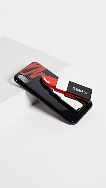 Iphoria Lipstick Red iPhone X Case