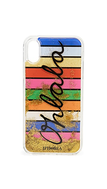 Iphoria Stripes Oh La La iPhone X Case