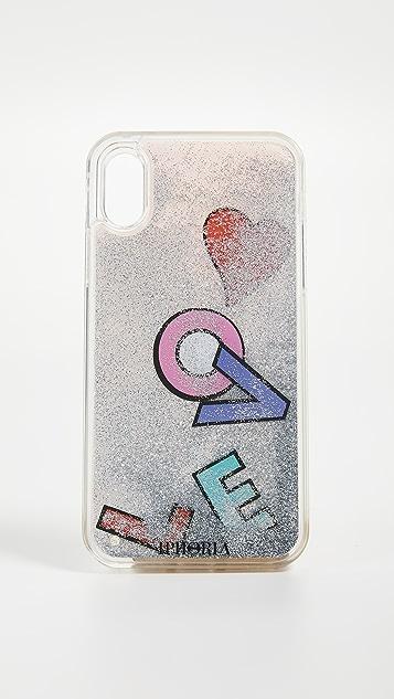 Iphoria Pink Love iPhone X Case