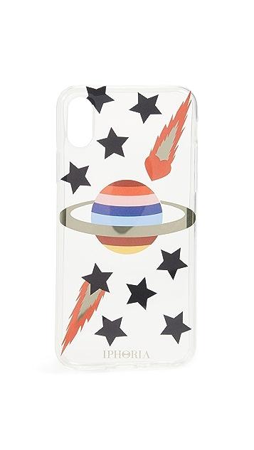 Iphoria Transparent Planet iPhone X Case