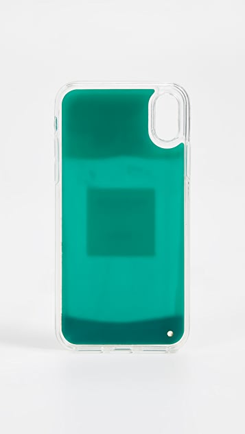 Iphoria Perfume Green iPhone X Case