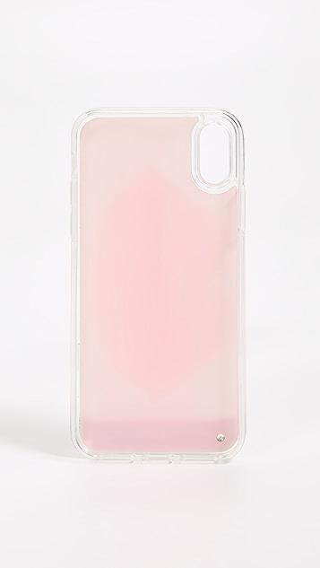 Iphoria Nude Lips Liquid iPhone X Case