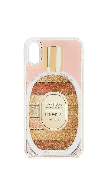 Iphoria Округлый чехол Perfume для iPhone X