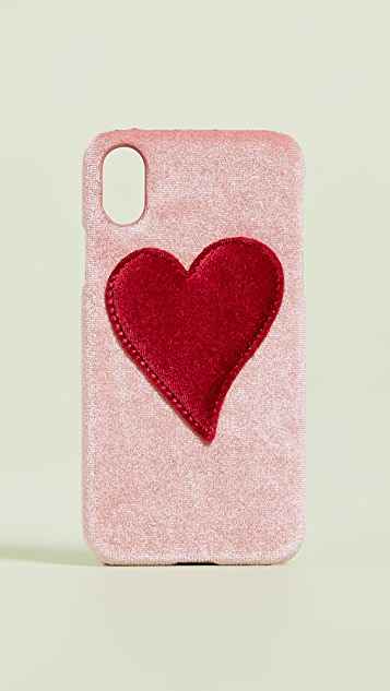 Iphoria Velvet iPhone X Case