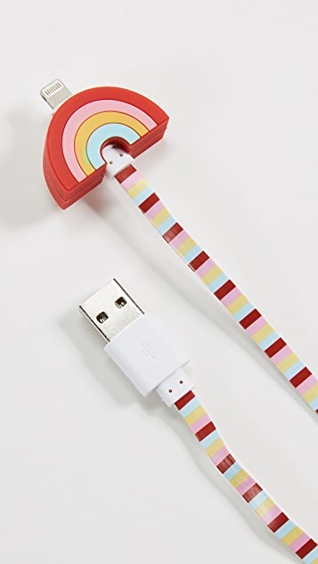 Iphoria Rainbow Lightning iPhone Cable