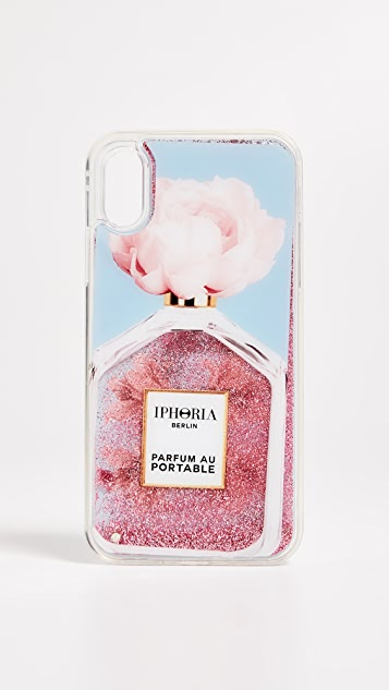 Iphoria Perfume Oblique Flower iPhone XS / X Case