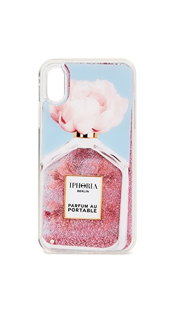 Iphoria Чехол Perfume Oblique Flower для iPhone XS/X