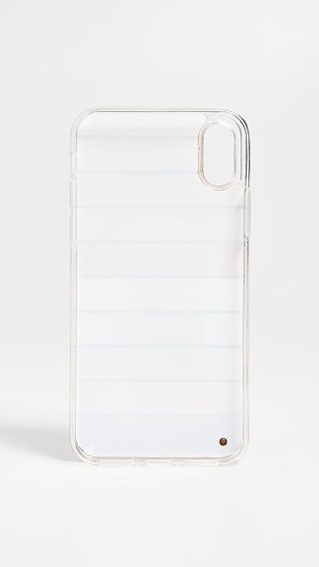 Iphoria Чехол Perfume Round в полоску для iPhone XS/X