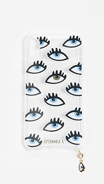 Iphoria Eye Transparent iPhone XS / X Case