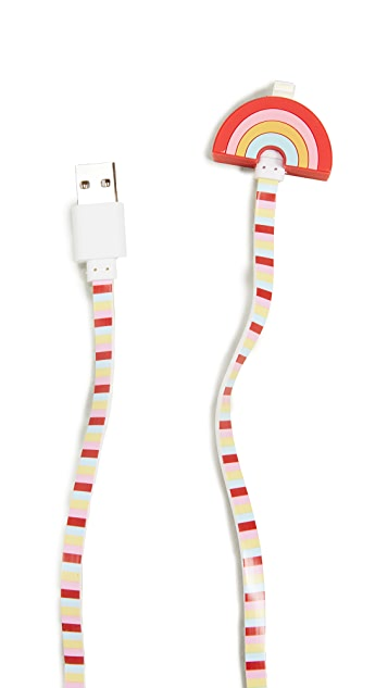 Iphoria Rainbow Lightning iPhone Charging Cable