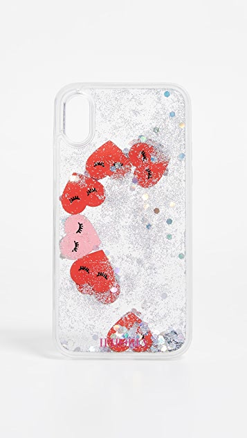 Iphoria Hearts Transparent Iphone X Case