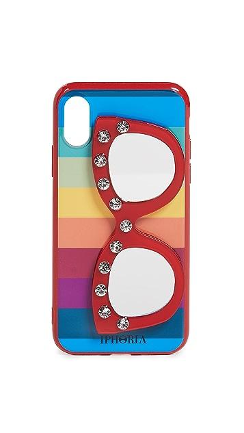 Iphoria Sunglasses Mirror iPhone X / XS 手机壳