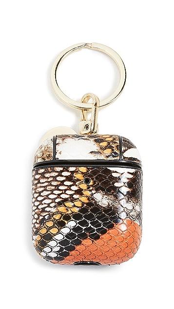 Iphoria Wild Snake Print Airpod Case