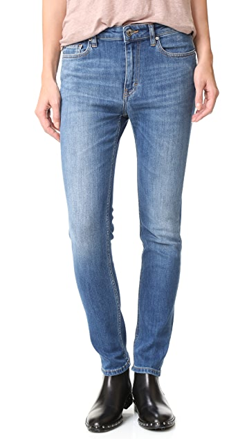 IRO.JEANS Karsencla Slouchy Straight Jeans
