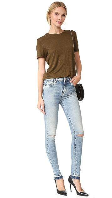 IRO.JEANS Esra Frayed Edge Jeans