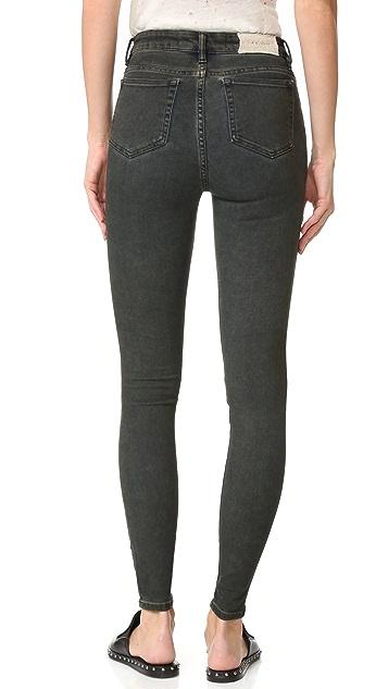 IRO.JEANS Elle Mid Rise Crop Jeans