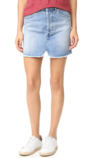 IRO.JEANS Taig Denim Skirt