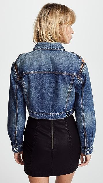 IRO.JEANS Kiss Cropped Denim Jacket
