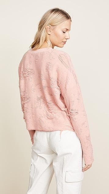 IRO.JEANS Cenix Distressed Sweatshirt