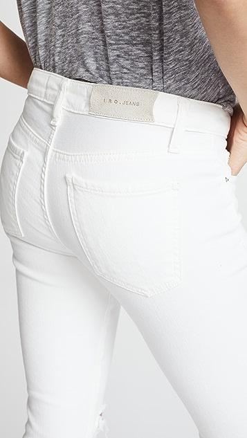 IRO.JEANS Jarod Mid Rise Crop Skinny Jeans
