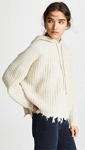 IRO.JEANS Mildred Hooded Chunky Knit