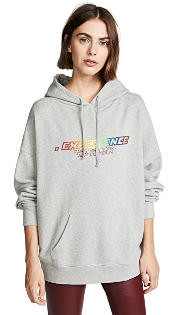 IRO.JEANS Толстовка Eyez с капюшоном и логотипом