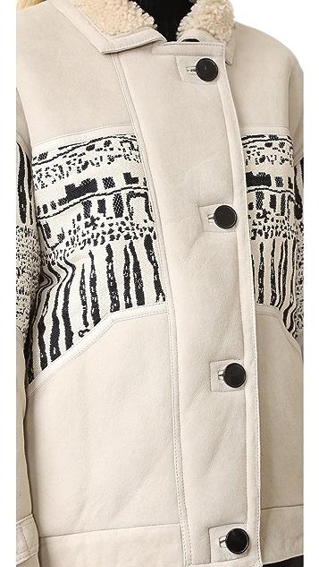 IRO Basil Shearling Coat