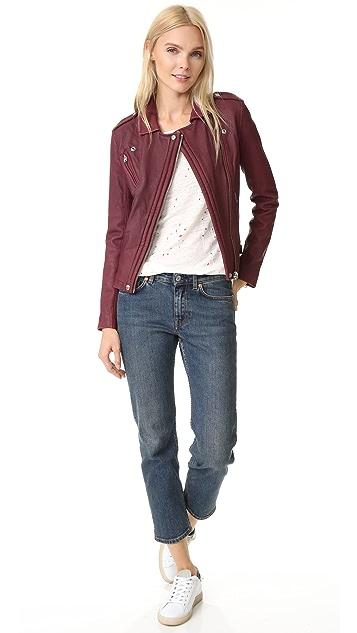 IRO Han Leather Jacket