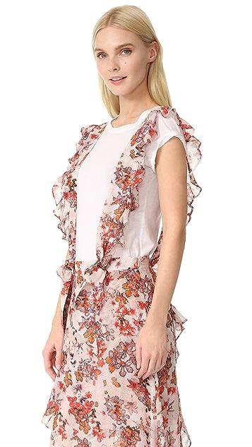 IRO Anoucka Apron Skirt