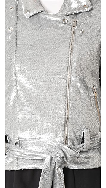 IRO Oliv Sequin Jacket