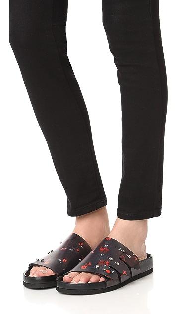 IRO Birki Printed Sandals