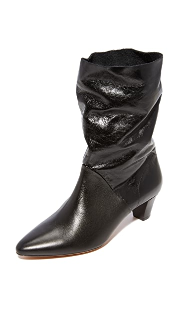 IRO Drapity Booties - Black