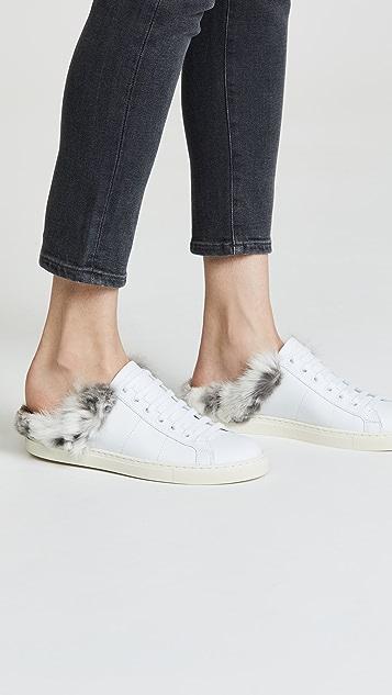 IRO Basfur Fur Mule Sneakers