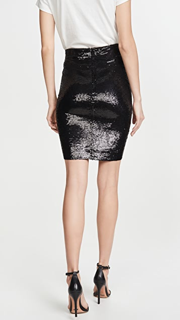 IRO Saria Sequined Skirt