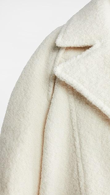 IRO Charco 羊驼毛外套
