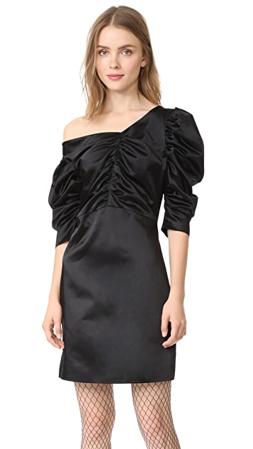 Isa Arfen Off Shoulder Gathered Dress