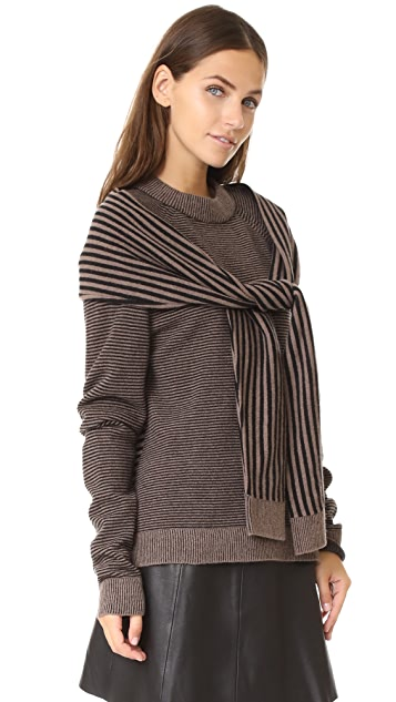 Isa Arfen Sweater with Tie