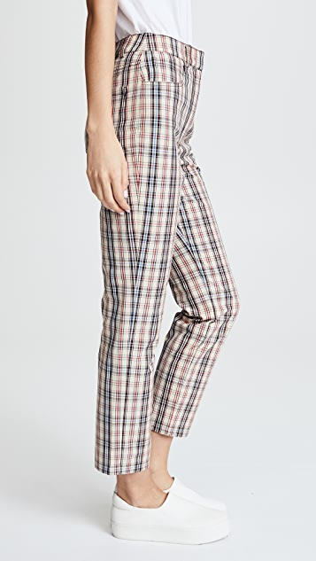 Isa Arfen Slim Kilt Trousers