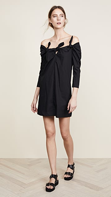 Isa Arfen 3 Knot Mini Dress