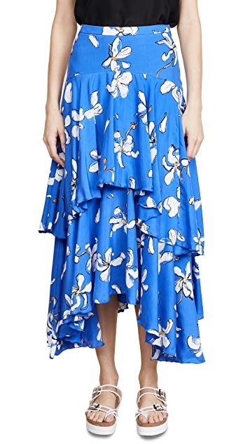 Isa Arfen Diaphanous Skirt