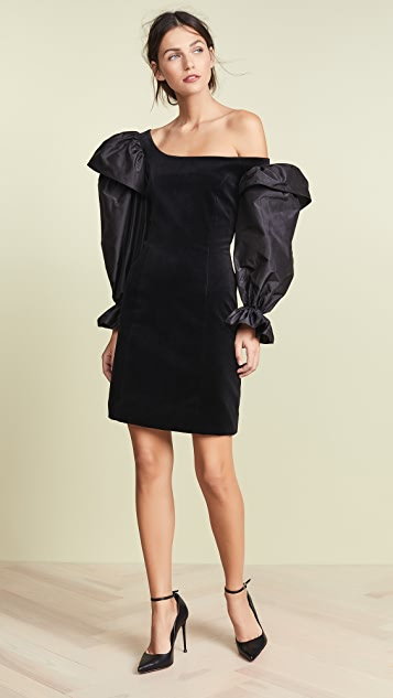 Isa Arfen Drama Sleeve Mini Dress