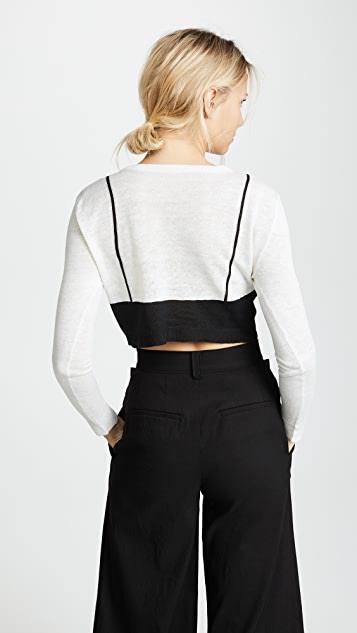 Isa Arfen Cropped Sweater