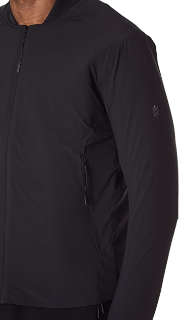 Isaora Lightweight Stretch Bomber Jacket