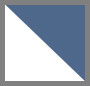 Denim Blue/White