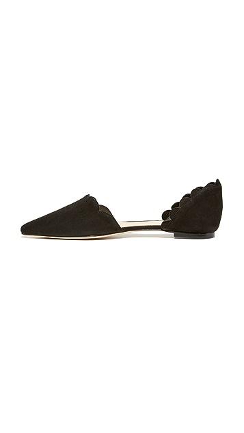 Isa Tapia Обувь на плоской подошве Garcia в стиле d'Orsay